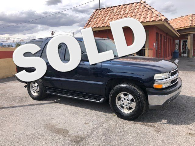 2006 Chevrolet Tahoe LS CAR PROS AUTO CENTER (702) 405-9905 Las Vegas, Nevada