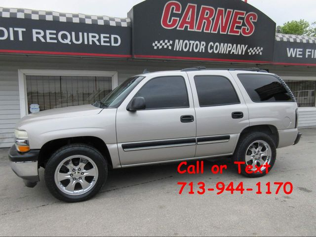 2006 Chevrolet Tahoe, PRICE SHOWN IS THE DOWN PAYMENT south houston, TX 0