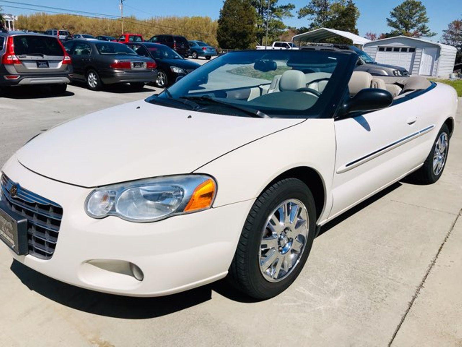 2006 Chrysler Sebring Limited Convertible Importore Inc In Lenoir City Tn
