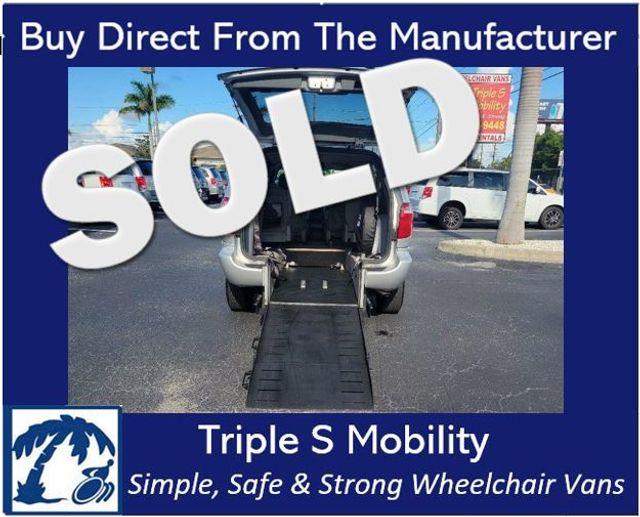 2006 Dodge Caravan Sxt Wheelchair Van Handicap Ramp Van