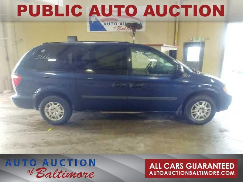 2006 Dodge Grand Caravan SE | JOPPA, MD | Auto Auction of Baltimore  in JOPPA MD