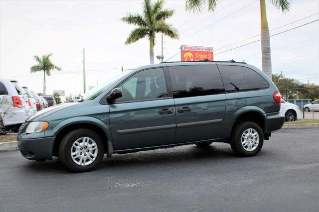 2006 Dodge Grand Caravan Se Wheelchair Van Handicap Ramp Van Pinellas Park, Florida 2