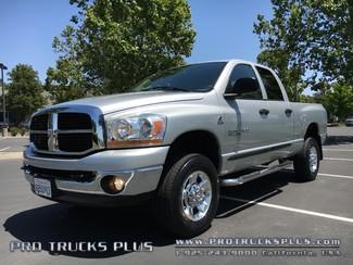 Ram 2500 4x4 5.9 Cummins Diesel Dodge 2006 SLT Crew Cab 1-Owner Truck  in Livermore California