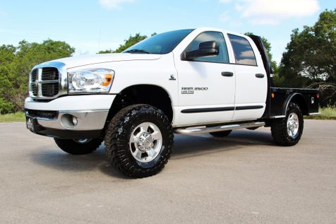 2006 Dodge Ram 2500 SLT - 4X4 - FLATBED - 1 OWNER in Liberty Hill , TX