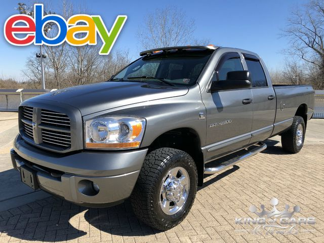 2006 Dodge Ram 2500 Quad Sport 5.9L CUMMINS DIESEL 6-SPEED MANUAL 4X4 1-OWNER
