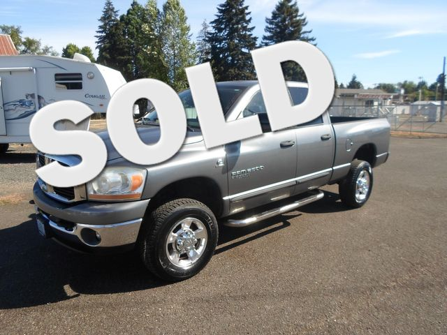 2006 Dodge Ram 2500 SLT Salem, Oregon