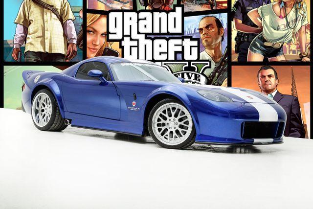 "2006 Dodge Viper ""Bravado Banshee"" From Grand Theft Auto"