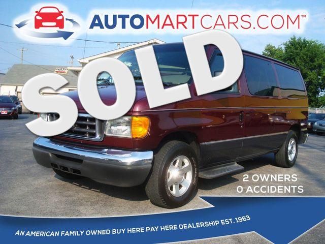 2006 Ford Econoline Wagon XLT   Nashville, Tennessee   Auto Mart Used Cars Inc. in Nashville Tennessee