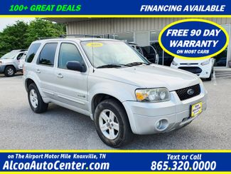 """2006 Ford Escape Hybrid AWD w/Heated Leather Seats/16"""" Alloys in Louisville, TN 37777"""