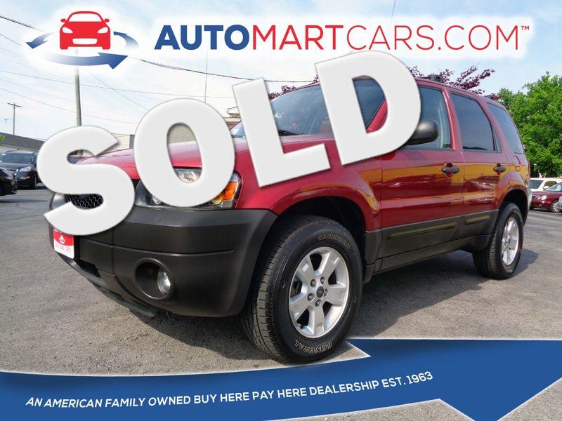 2006 Ford Escape XLT | Nashville, Tennessee | Auto Mart Used Cars Inc. in Nashville Tennessee