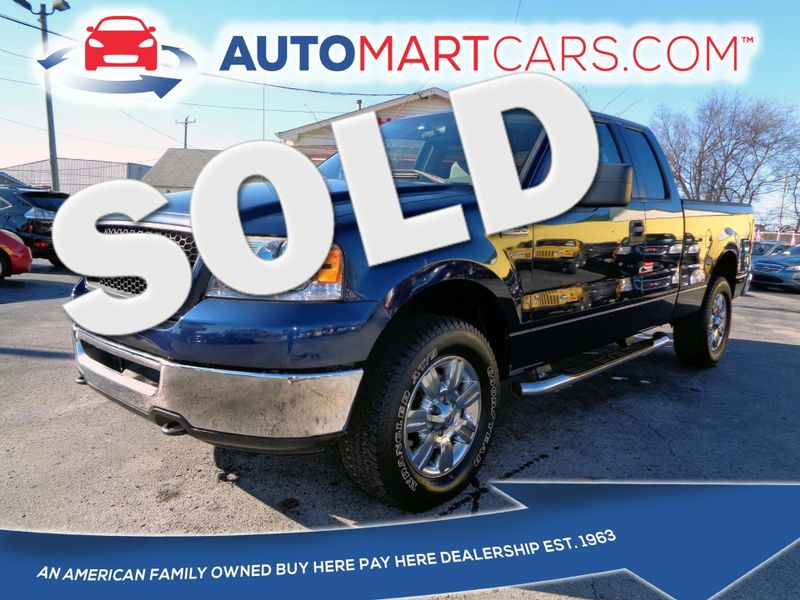 2006 Ford F-150 XLT   Nashville, Tennessee   Auto Mart Used Cars Inc. in Nashville Tennessee