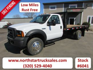 2006 Ford F-450 Reg Cab Flat-Bed Truck in St Cloud, MN