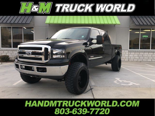 2006 Ford F250SD XLT 4X4 *BULLET-PROOFED*LIFTED*BLACK MONSTERS