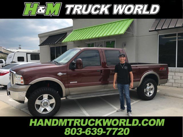 2006 Ford F250SD King Ranch 4X4 *BULLET-PROOFED*LEVELED*35'S* WOW