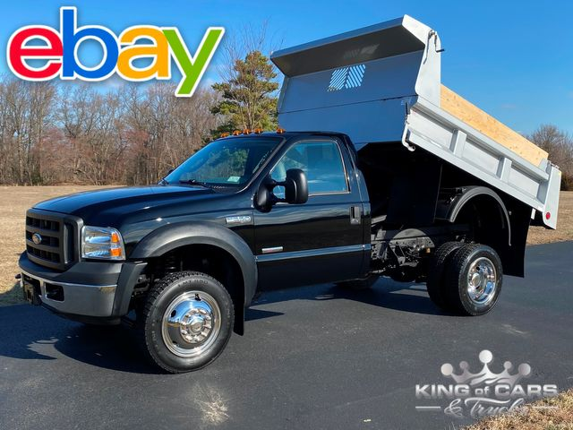 2006 Ford F550 4x4 6.0l Diesel MASON DUMP ONLY 6K MILES LIKE NEW WOW