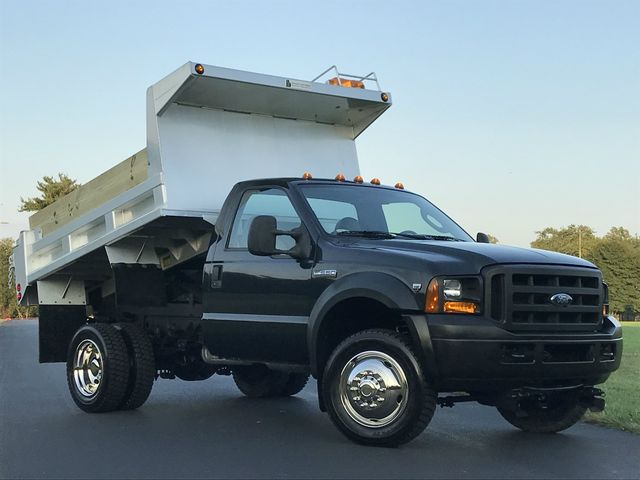 2006 Ford F550 Aluminum DUMP CENTRAL HYDRAULICS V10 17K MILES 4X4 1-OWNER in Woodbury New Jersey, 08096