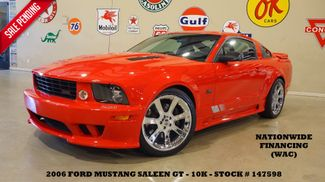 2006 Ford Mustang Saleen Coupe AUTO,LTH,6 DISK CD,CHROME 20'S,10K in Carrollton, TX 75006