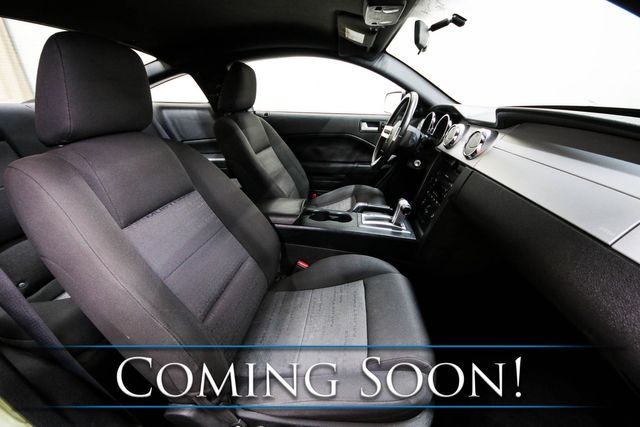 2006 Ford Mustang Premium Coupe with Shaker 500 Sound System and Bullit 2-Tone Wheels in Eau Claire, Wisconsin 54703