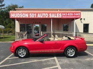 2006 Ford Mustang V6 Deluxe Convertible   Myrtle Beach, South Carolina   Hudson Auto Sales in Myrtle Beach South Carolina