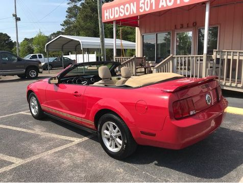 2006 Ford Mustang V6 Deluxe Convertible | Myrtle Beach, South Carolina | Hudson Auto Sales in Myrtle Beach, South Carolina
