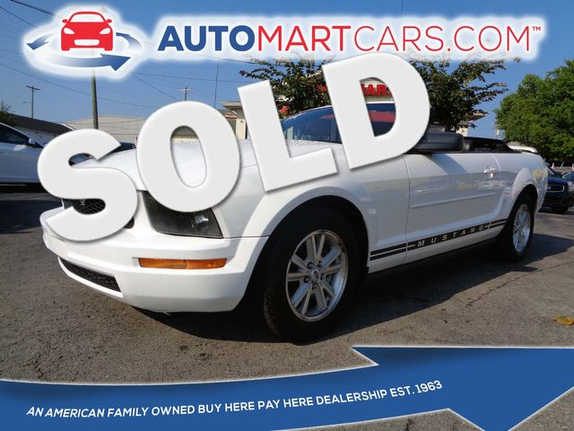 2006 Ford Mustang Premium   Nashville, Tennessee   Auto Mart Used Cars Inc. in Nashville Tennessee