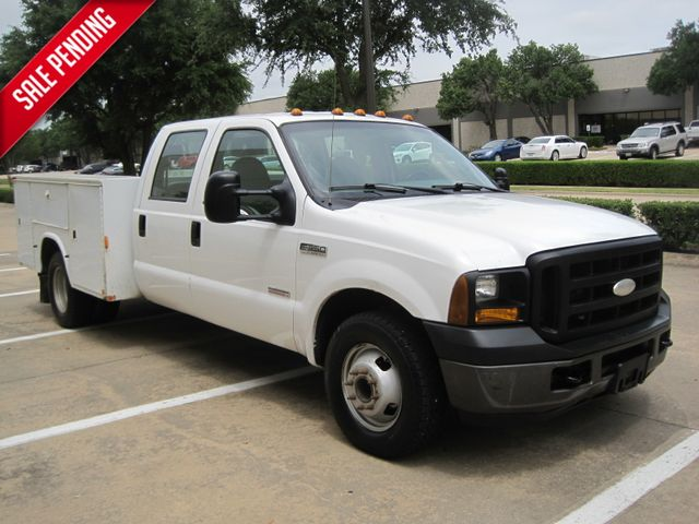2006 Ford F350 Crew Cab DRW, Service/Utility Body, 1 Owner , Service history, Powerstroke, Low Miles in Plano Texas, 75074