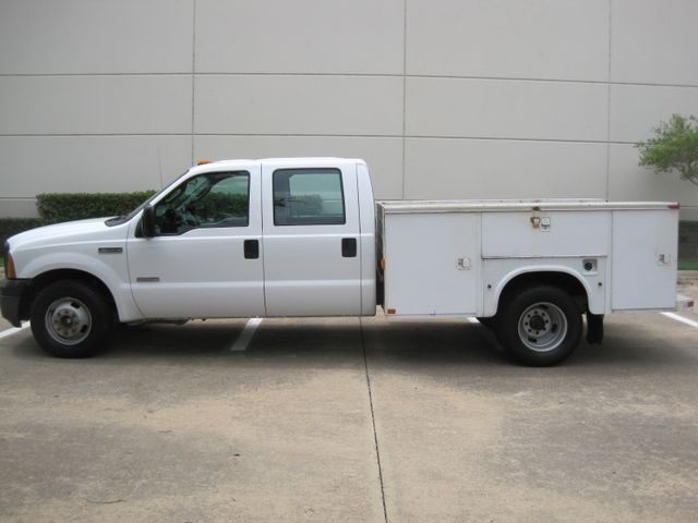 2006 Ford F350 DRW, Service/Utility Body, 1 Owner , Service history, Powerstroke Diesel, Low Miles in Plano Texas, 75074