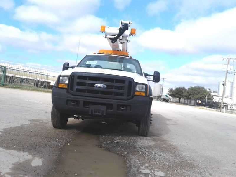 2006 Ford Super Duty F-450 DRW 40 ETI ARTICULATING  TELESCOPIC BOOM LOW MILES  city TX  North Texas Equipment  in Fort Worth, TX