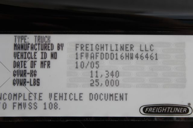 2006 Freightliner M2 SPORTCHASSIS RHL185 GARAGE TRUCK CONROE, TX 32