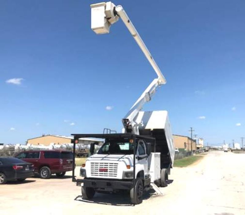 2006 GMC 7500 FORESTRY 60FT CHIPPER BED  CALL TODAY 682-402-9972  city TX  North Texas Equipment  in Fort Worth, TX