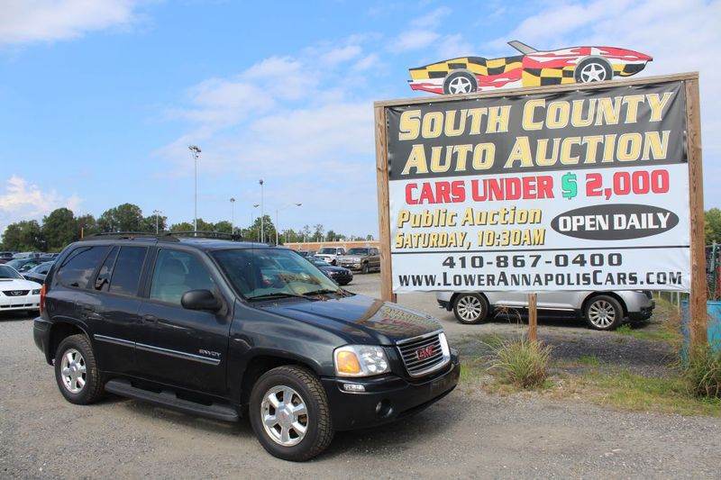 2006 GMC Envoy SLE  city MD  South County Public Auto Auction  in Harwood, MD