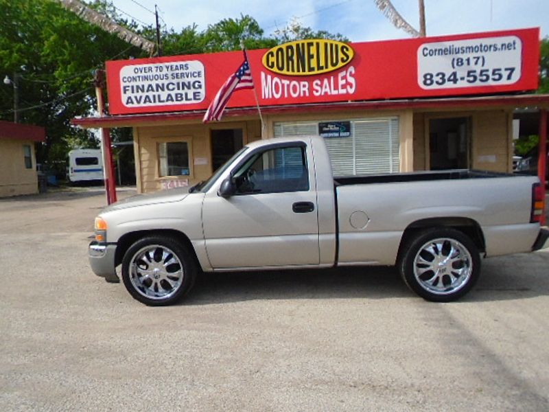 2006 GMC Sierra 1500 Work Truck | Fort Worth, TX | Cornelius Motor Sales in Fort Worth TX