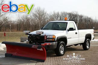 2006 GMC Sierra 2500HD 6.0L WESTERN PLOW 4X4 ONLY 64K ORIGINAL MILES in Woodbury, New Jersey 08093
