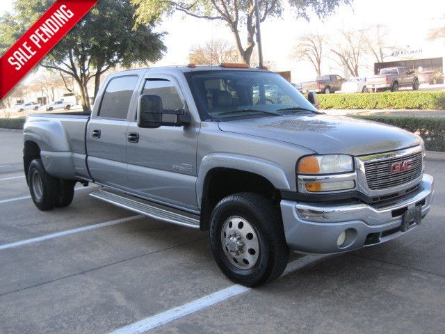 2006 Gmc/Chev Sierra 1 Ton Crew Cab Dually Slt Duramax Leather, Loaded Xtra/ Nice. in Plano, Texas 75074