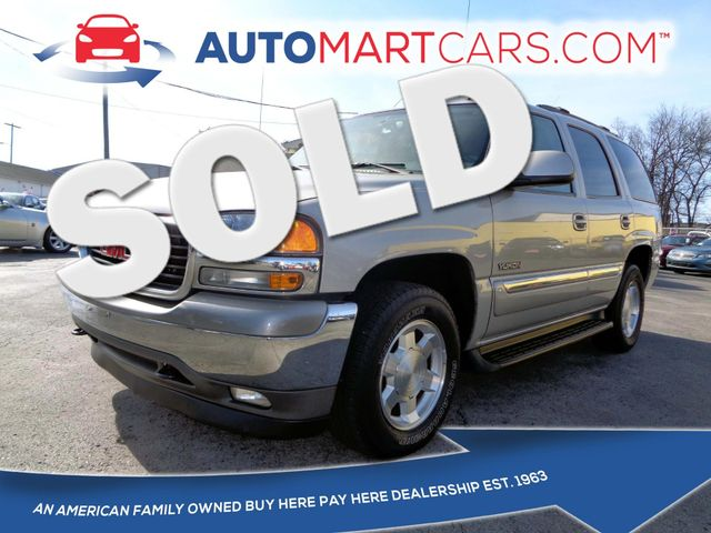 2006 GMC Yukon SLT | Nashville, Tennessee | Auto Mart Used Cars Inc. in Nashville Tennessee