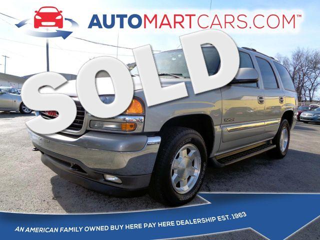 2006 GMC Yukon SLT | Nashville, Tennessee | Auto Mart Used Cars Inc. in Nashville Tennessee