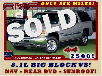 2006 GMC Yukon XL 2500 SLT 4x4 - NAV - REAR DVD - SUNROOF - 8.1L V8! Mooresville , NC