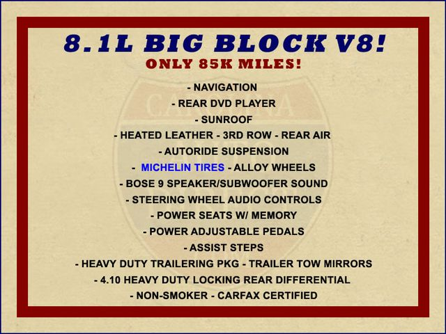 2006 GMC Yukon XL 2500 SLT 4x4 - NAV - REAR DVD - SUNROOF - 8.1L V8! Mooresville , NC 1