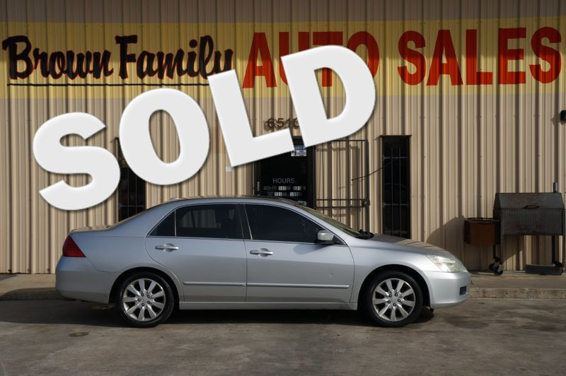 2006 Honda Accord EX-L V6 | Houston, TX | Brown Family Auto Sales in Houston TX