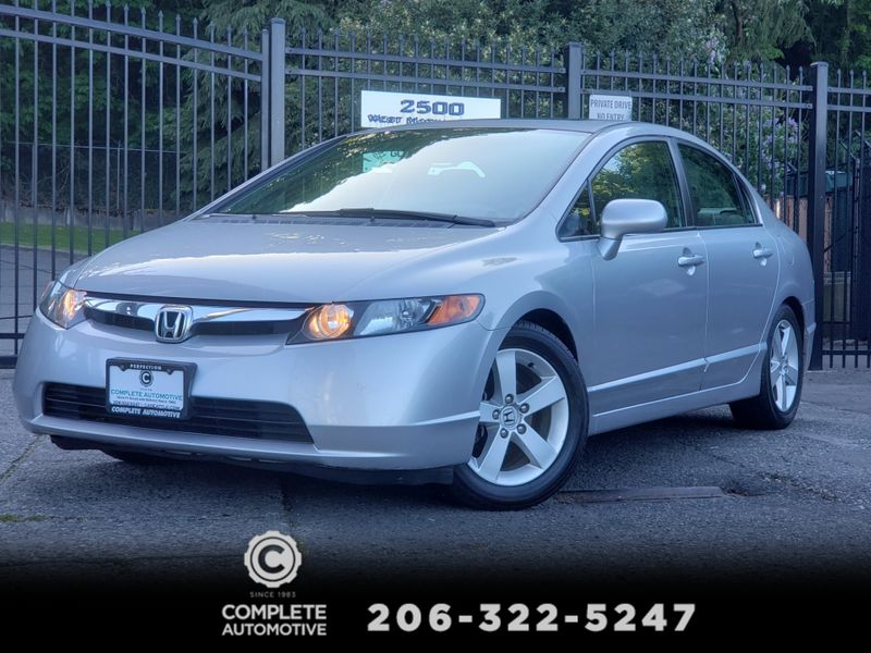2006 Honda Civic EX 4 Door Moonroof Automatic 105000  Miles Local 2 Owner   city Washington  Complete Automotive  in Seattle, Washington