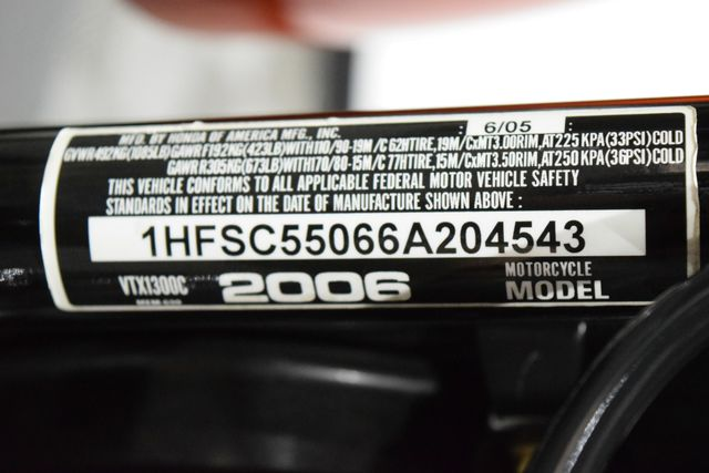 2006 Honda VTX 1300 C in Carrollton TX, 75006
