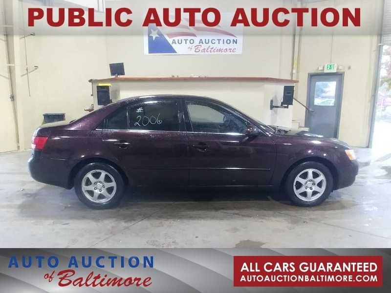 2006 Hyundai Sonata GLS | JOPPA, MD | Auto Auction of Baltimore  in JOPPA MD
