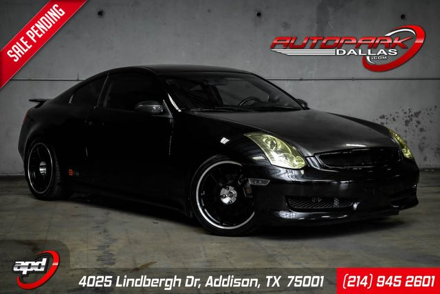 2006 Infiniti G35 Vortech Supercharger 1-Owner Low Miles