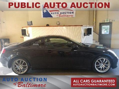 2006 Infiniti G35  | JOPPA, MD | Auto Auction of Baltimore  in JOPPA, MD
