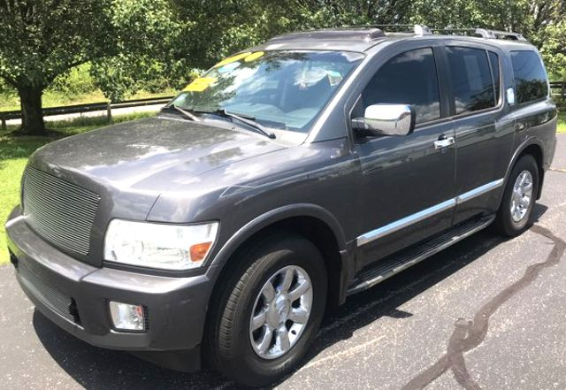 2006 Infiniti-3rd Row! Local Trade! Vip Customer! QX56-FLIP DN TV! MOONROOF!  BUY HERE PAY HERE! Knoxville, Tennessee