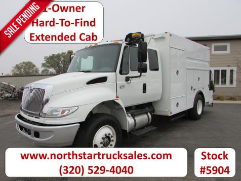 2006 International 4400 Ext-Cab Enclosed Utility Truck  in St Cloud, MN