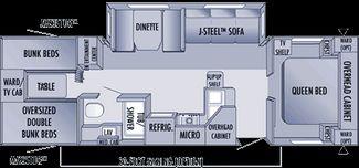 2006 Jayco Jay Flight 31' 4 Bunk Slide out in Katy, TX 77494