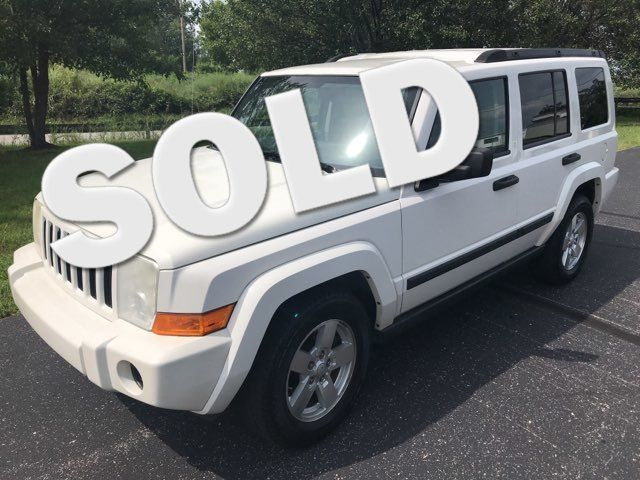 2006 Jeep-2 Owner! 3rd Row! Commander-4X4! BUY HERE PAY HERE! Base-CARMARTSOUTH.COM Knoxville, Tennessee