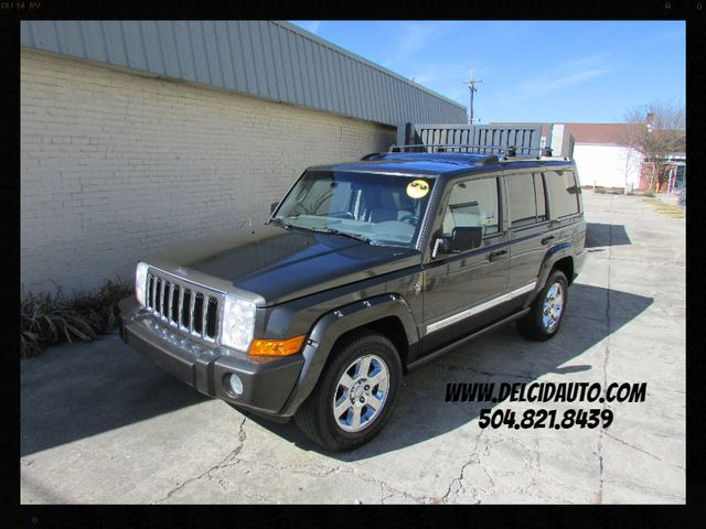 2006 Jeep Commander Limited, Sunroof! Navigation! Clean CarFax!