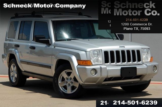 2006 Jeep Commander leather